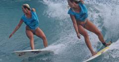 Soul Surfer Bethany Hamilton Surfing In Hawaii