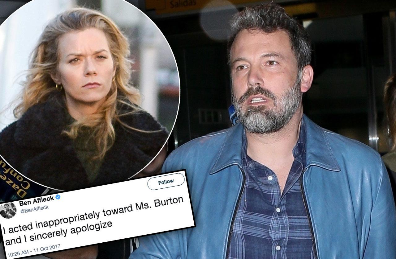 Ben Affleck Apologizes Hilarie Burton Breast Groping