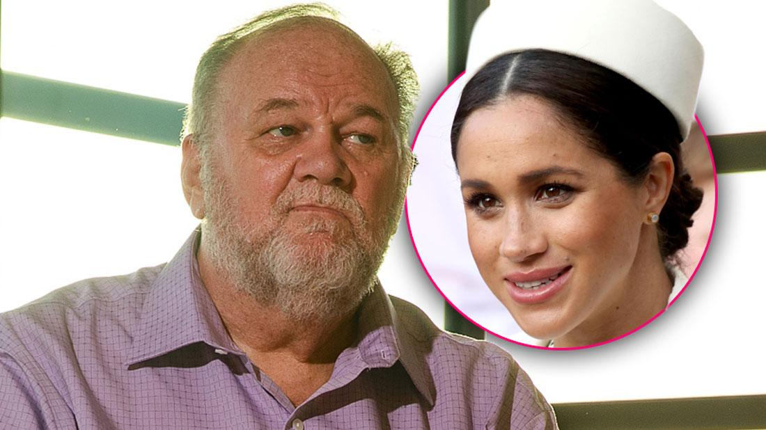 Meghan's Estranged Dad Heartbroken After Birth Of Her First Child