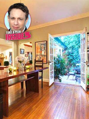 //chris kattan lists hollywood home  million tall