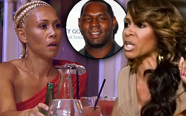 Sheree Whitfield & Tammy McCall Browning Fight Over Bob