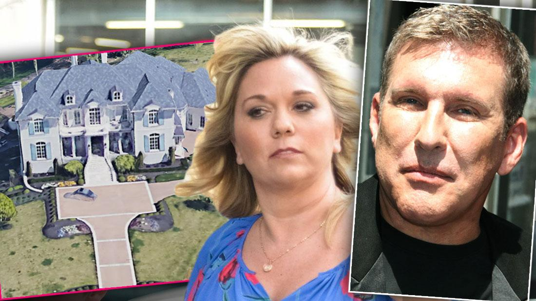odd & Julie Chrisley Attempt To Sell Tennessee Mansion For $4.9M Amid Tax Evasion Scandal