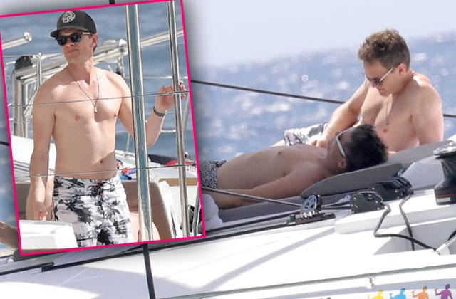 Neil Patrick Harris Husband Kids Shirtless Yacht