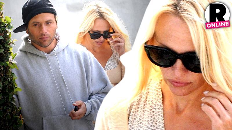 //pamela anderson rick solomon honeymoon stage over marriage says friend couple pp sl