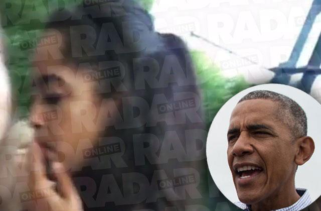 malia obama smoking pot claims lollapalooza twerking