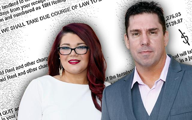 'Teen Mom' Amber Portwood Fiance Evicted