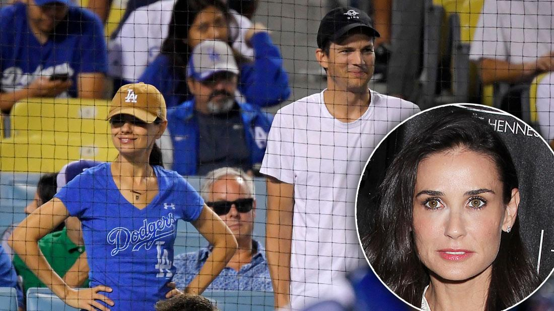 Ashton Kutcher & Mila Kunis On Date After Demi Moore Accusations