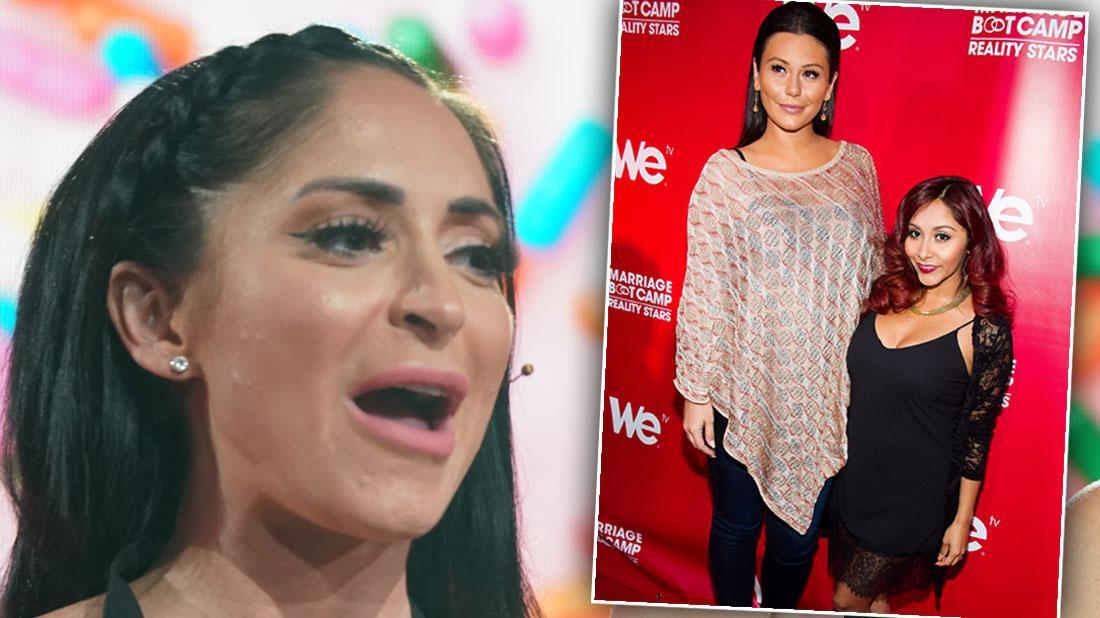 'Jersey Shore' Wedding Drama! Angelina 'Upset' After Snooki & JWoww Give Nasty Toast