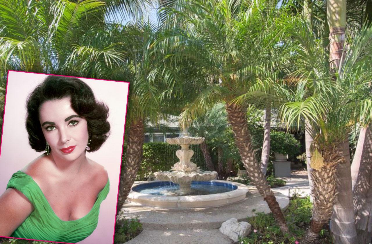 Elizabeth Taylor Mansion Price Slash 4 Million