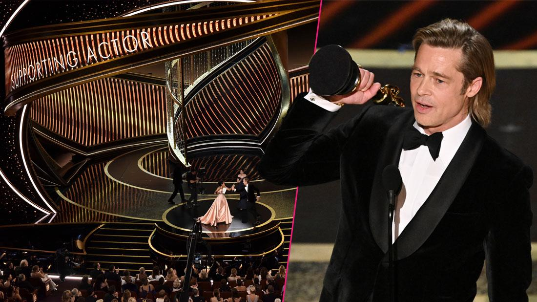 'I Adore You!' Brad Pitts Gets Emotional And Thanks Kids During Oscars Acceptance Speech
