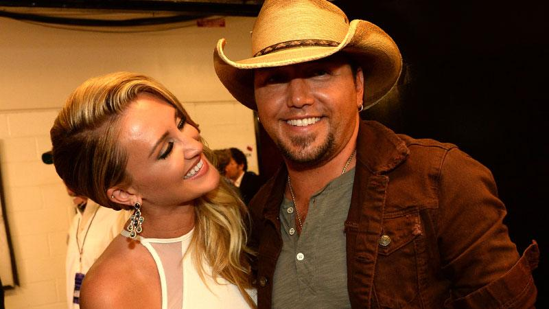 //jason aldean brittany kerr not engaged yet