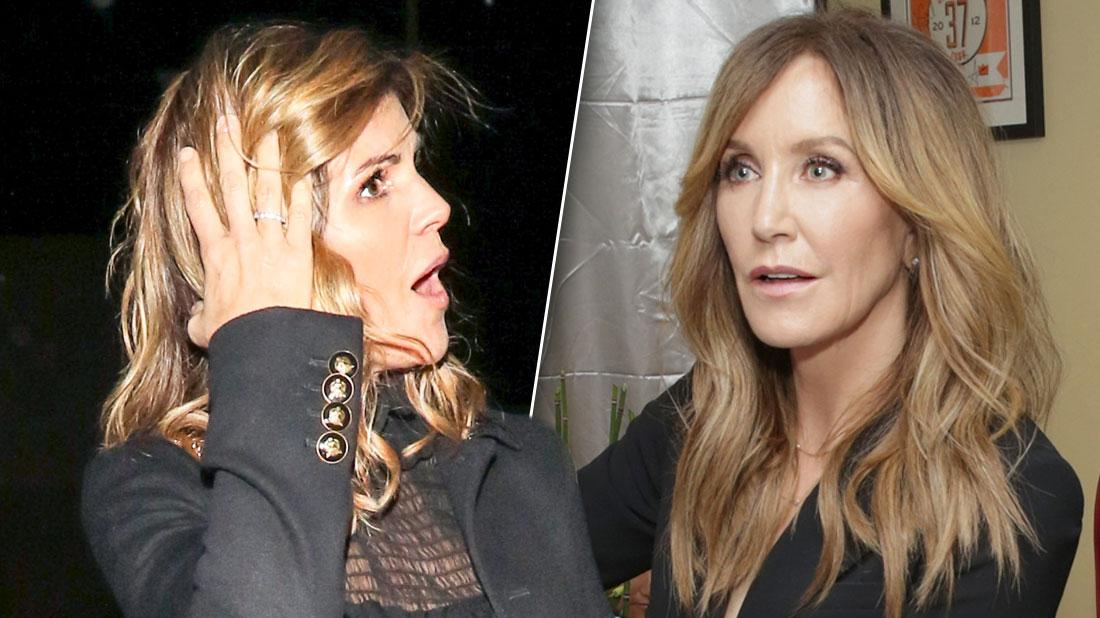 Lori Loughlin & Felicity Huffman Haven't Grasped The Possibility Of Prison