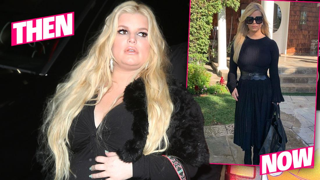 Jessica Simpson Reveals She Lost 100 Pounds In Photo After Childbirth