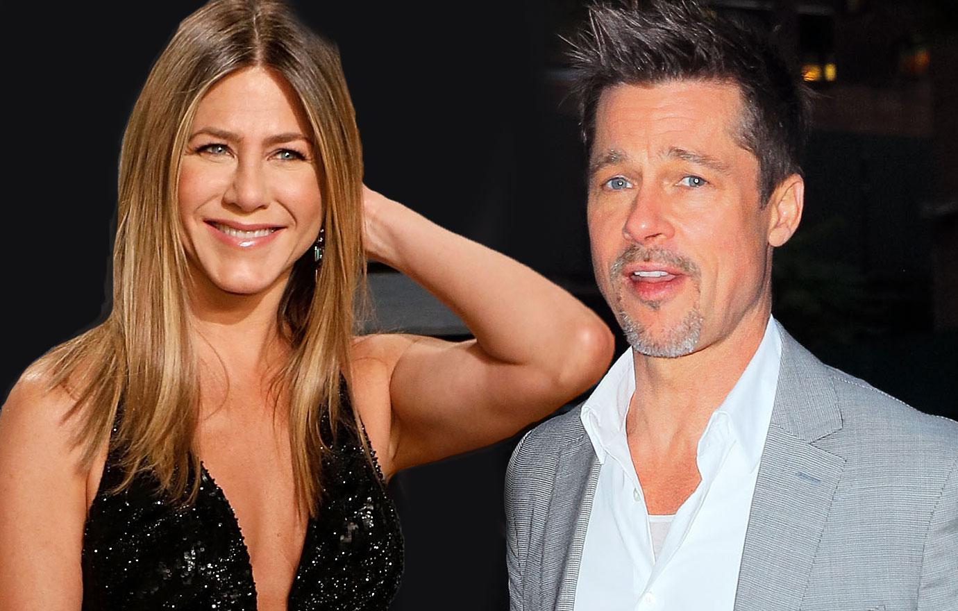 Jennifer Aniston Leaned On Brad Pitt For 15 Months Before Split