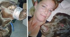 Animal Cruelty: Woman Duct Tapes Dog's Mouth Shut