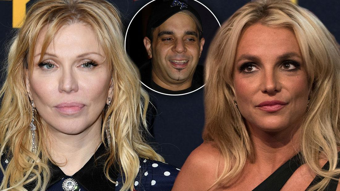 Britney's Team Argues In Restraining Order: Sam Lufti Harassed Courtney Love, Too