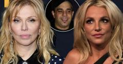 Britney's Team Argues In Restraining Order: Sam Lufti Harassed Courtney Love, Too