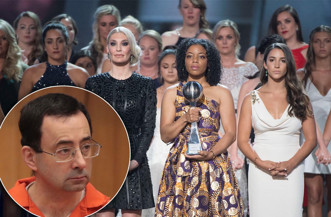 140 Larry Nassar Sexual Assault Victims Courage Award