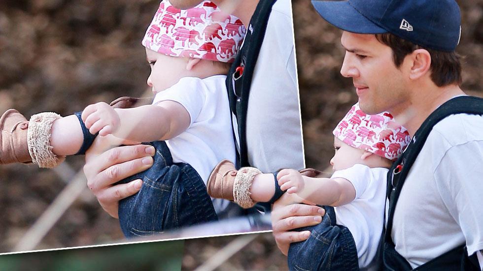 Ashton Kutcher Daughter Wyatt