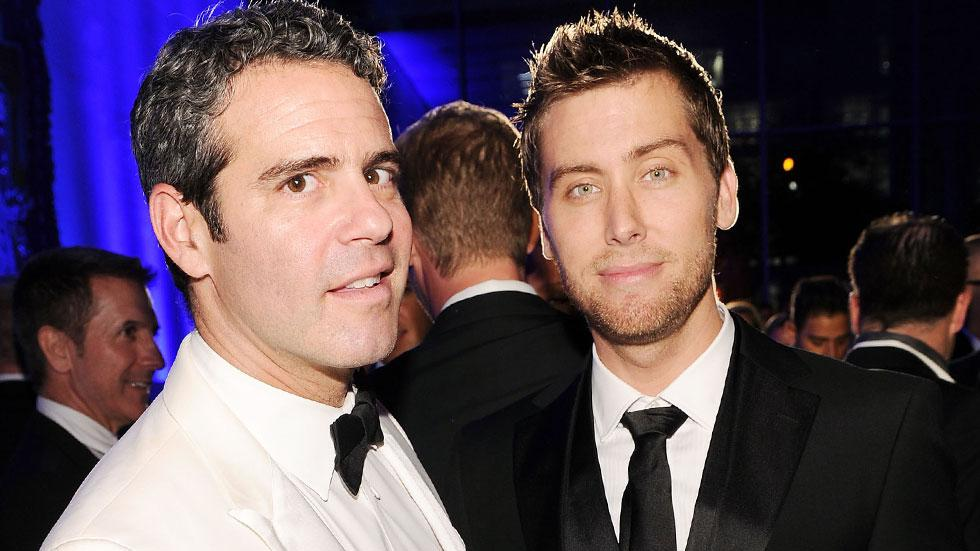 Andy Cohen Had Sex With Lance Bass 'Watch What Happens Live'