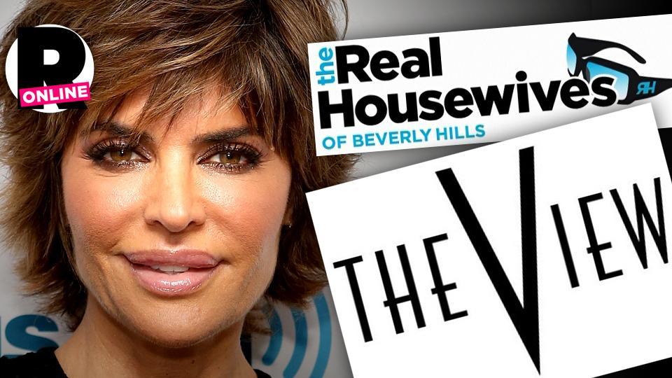 //lisa rinna the view abc rhobh bravo talks join cast  wide