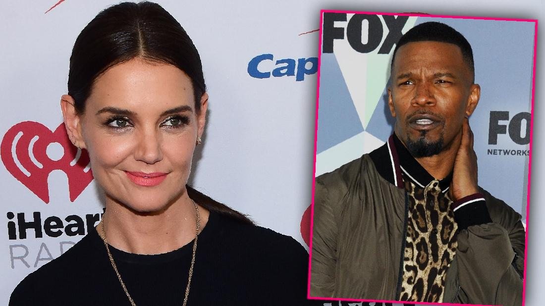 Katie Holmes Poses Alone At Jingle Ball After Jamie Split