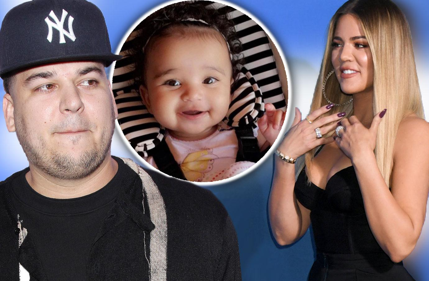 Khloe Kardashian Wants To Adopt Rob's Daughter Dream!