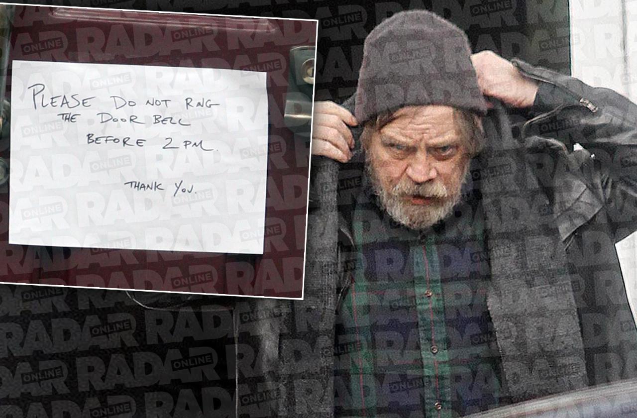 Mark Hamill Luke Skywalker Door Sign
