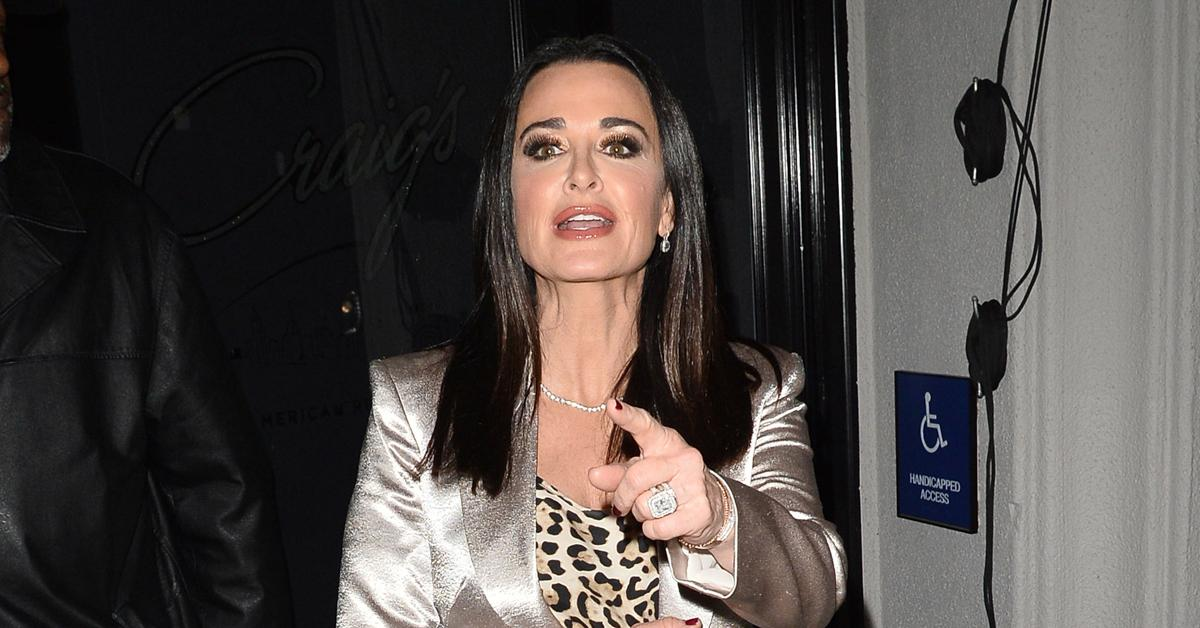 kyle richards bee sting attack  call epipen