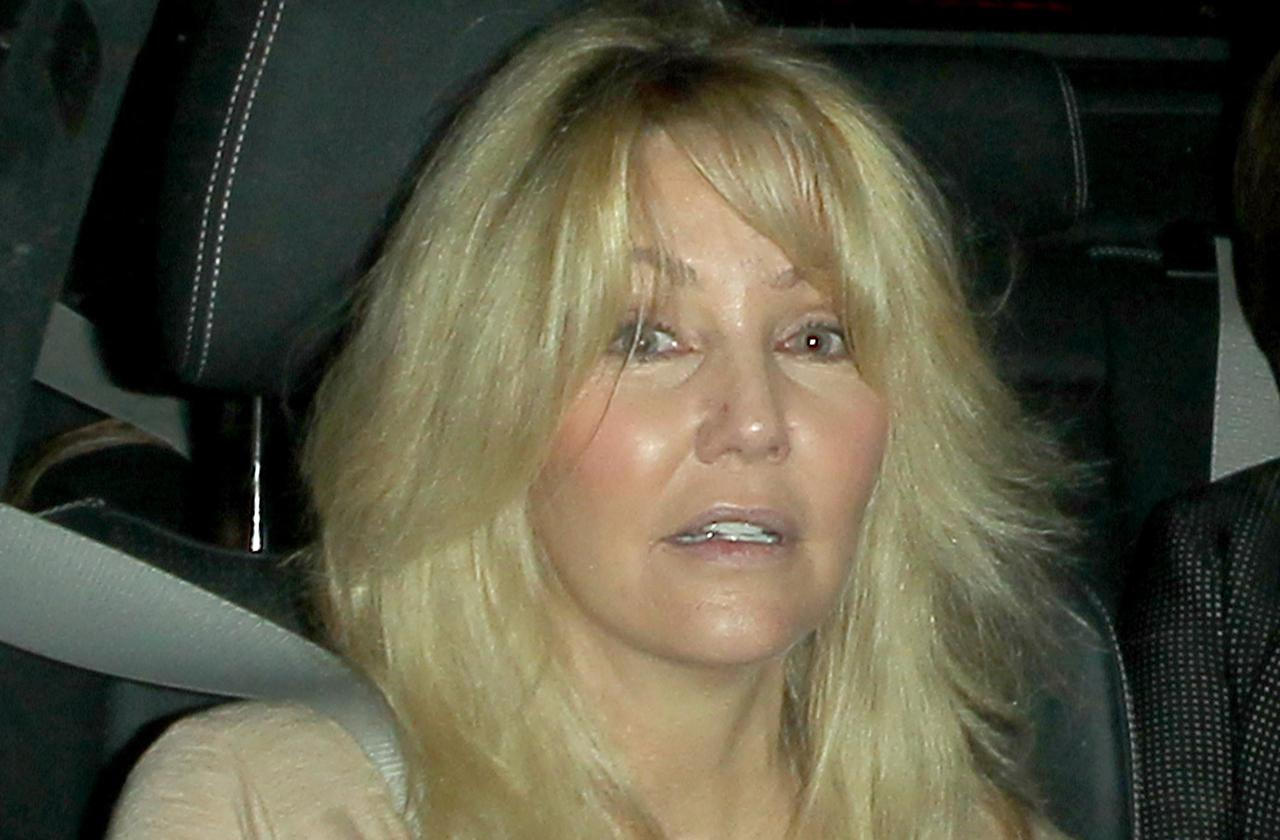 cops search heather locklear home gun rehab