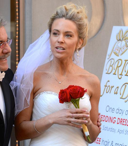 Kate Gosselin Wedding Dress Celebrity Apprentice