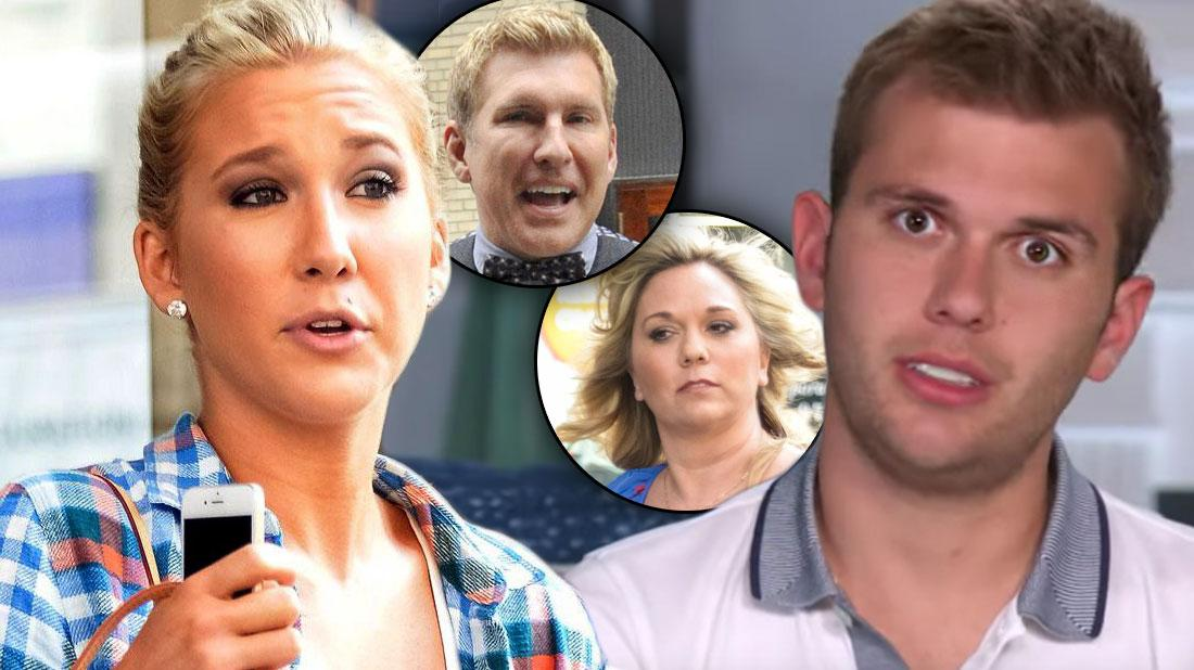 Todd Chrisley's Kids Savannah & Chase Ripped By Fans After Parents' Indictment