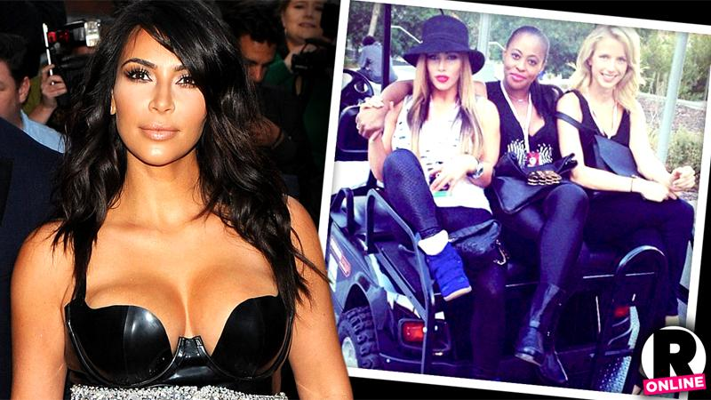 //kim kardashian cause backstage ruckus rival corman ortega kicked out vip la music festival pp sl