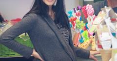 Lisa Ling giving birth