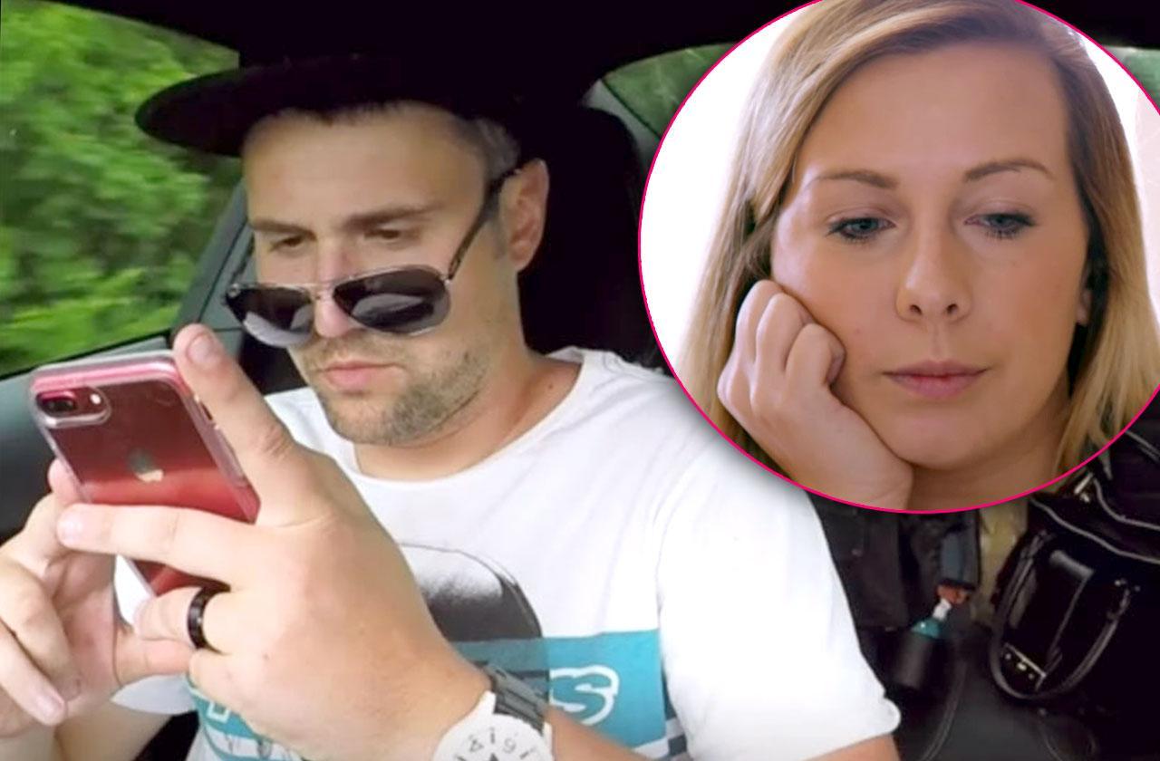 ryan edwards dirty texts penis photos cheating scandal tinder hookup