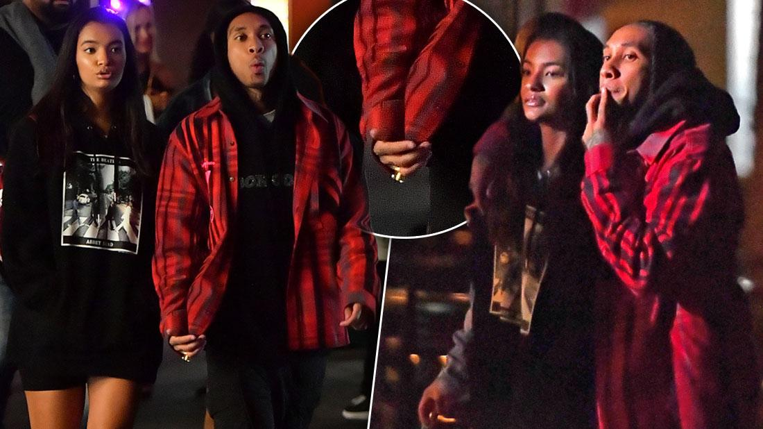 Tyga Out With Mystery Woman After Kylie Jenner Hookup Rumors