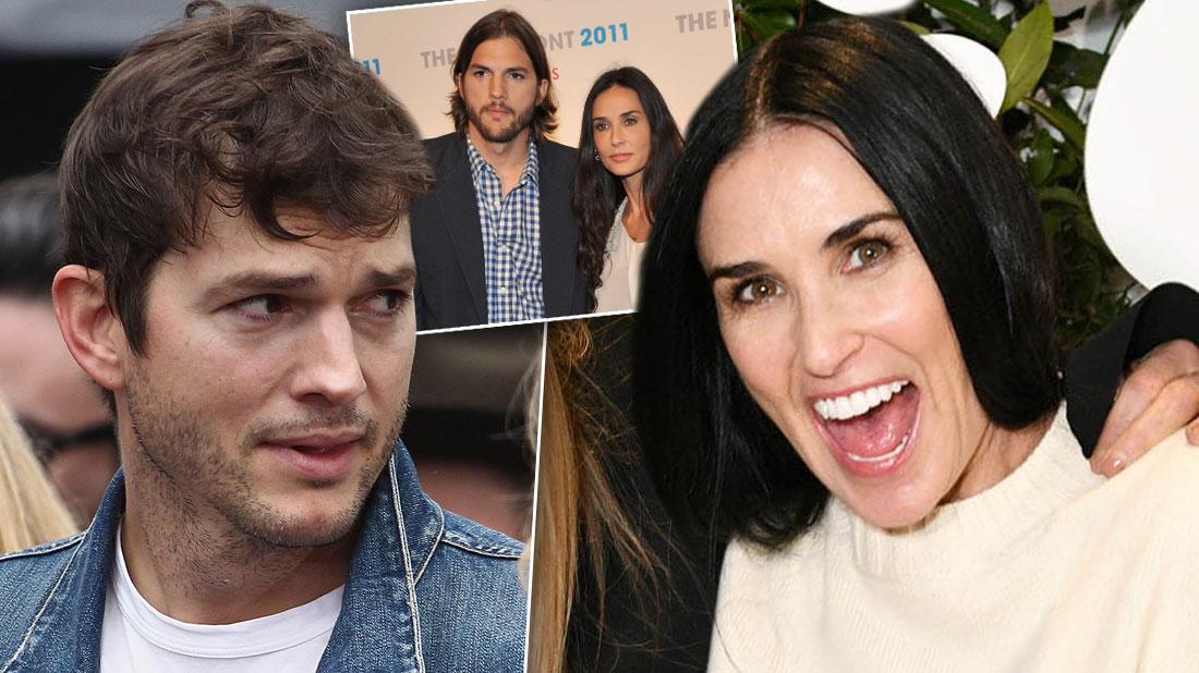 Careful Ashton Kutcher! Demi Moore To Spill Secrets In Memoir