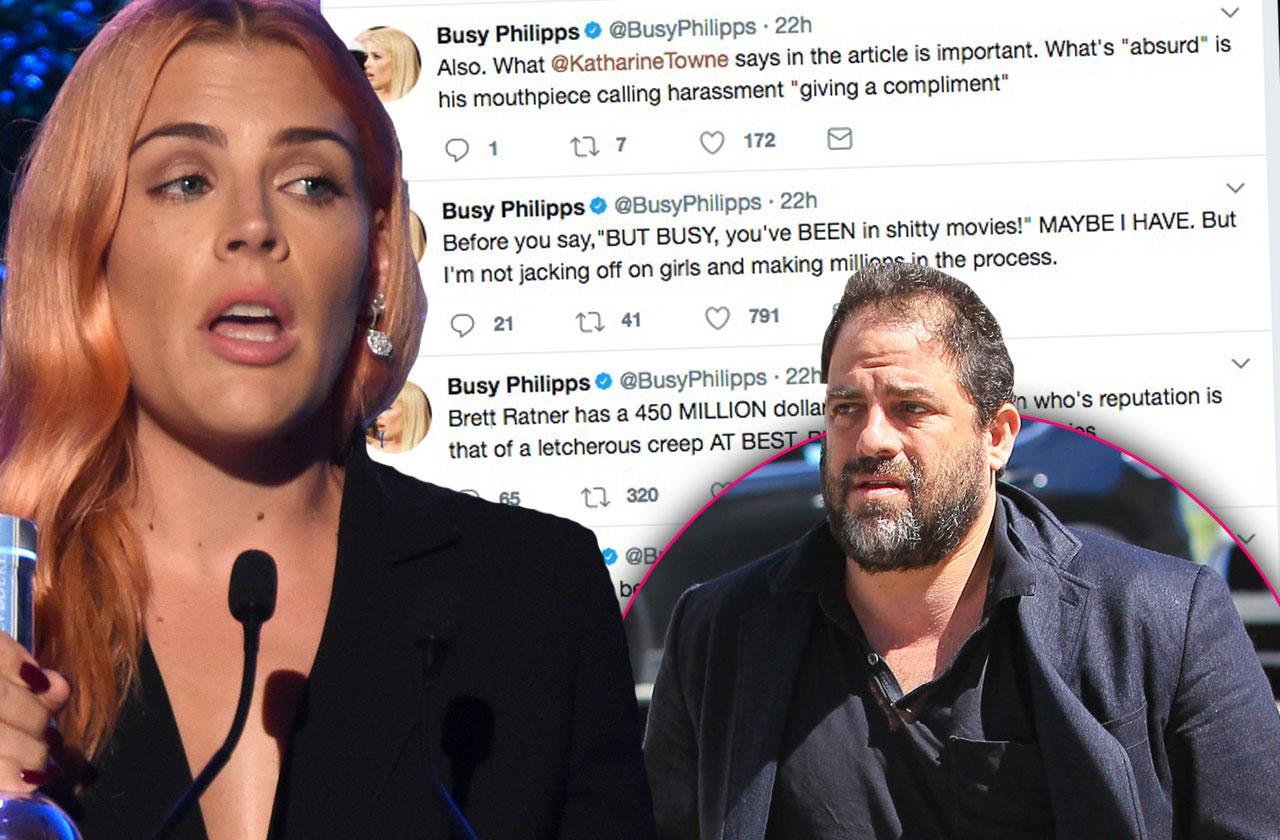 Busy Philipps Brett Ratner Sexual Assault