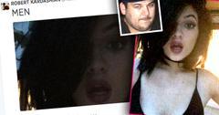 //rob kardashian tweets sexy shot kylie jenner  men pp sl