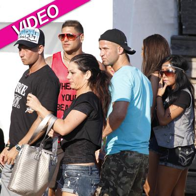 //jersey shore cast inf post