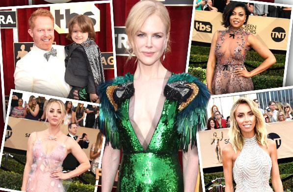 //best worst wackiest dressed sag awards   pp