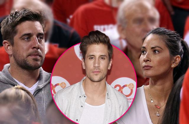 Aaron Rodgers -- Explosive Fight Between Olivia Munn And Brother Jordan Led To Family Rift