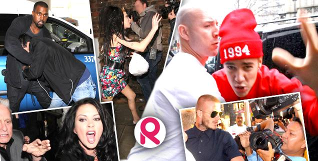 //when celebrities attack  notorious hollywood v the paparazzi incidents wide