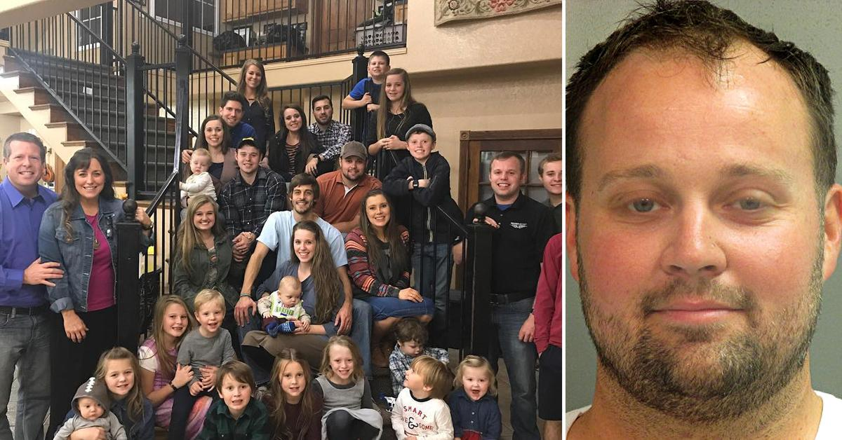 josh duggar family compound quiet photos child porn arrest