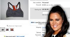 //khloe kardashian selling ebay