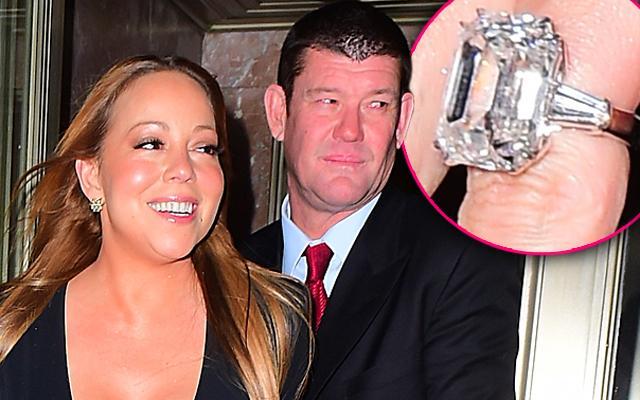 //mariah carey engaged james packer billionaire engagement ring
