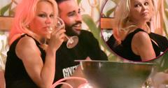 Pamela Anderson Face Adil Rami Dinner Date