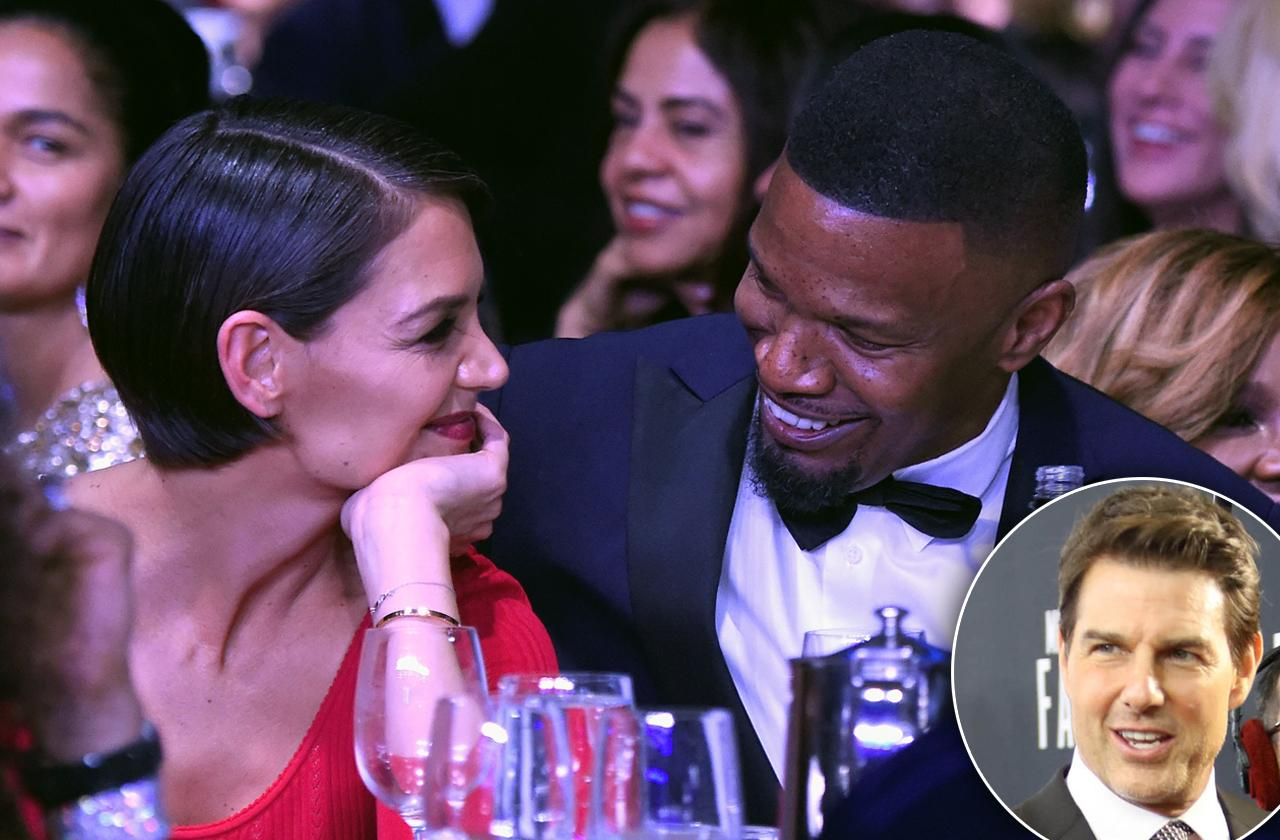 Katie Holmes and Jamie Foxx Plan Sit Down With Tom Cruise Before Announcing Engagement