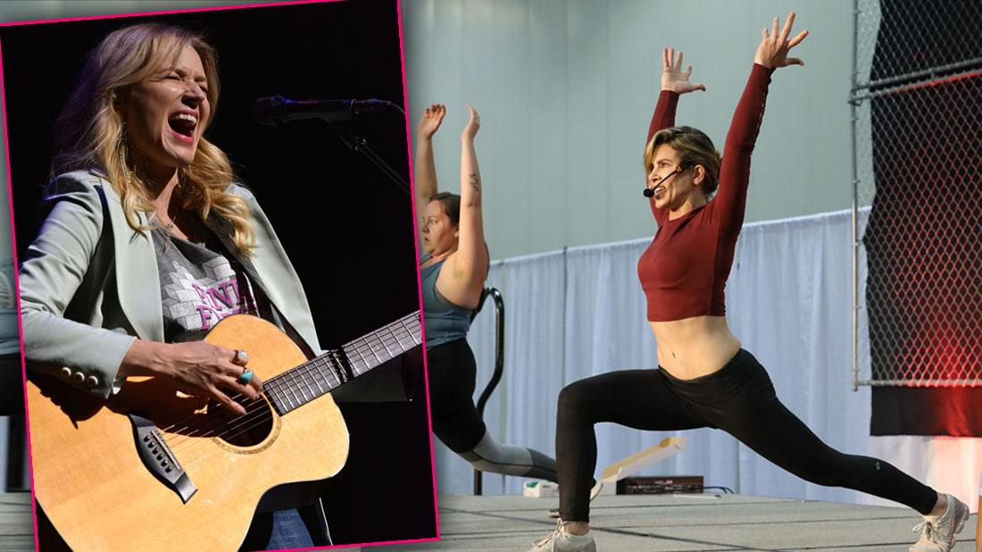 Jillian Michaels and Jewel Dazzle At Exclusive Wellness Your Way Festival