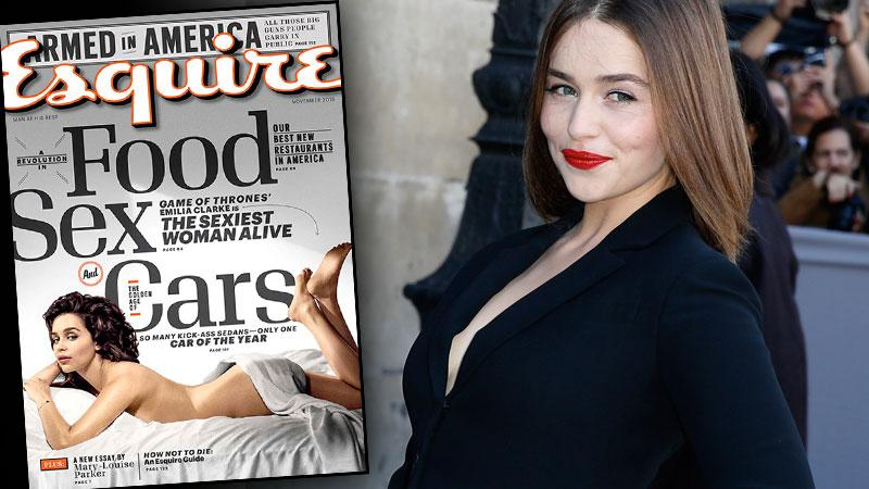 Emilia Clarke Naked Photos -- Game Of Thrones Star In Esquire